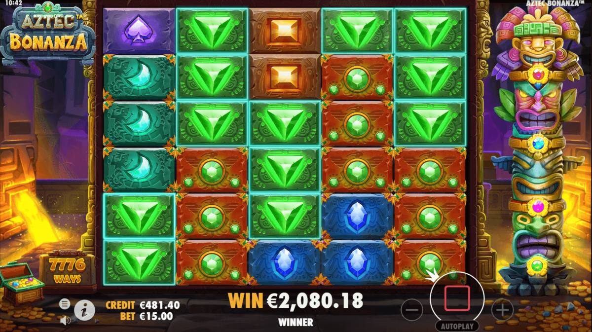 Slot Clear Four Corners for Free Spins